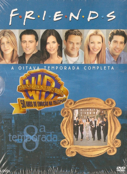 Box Dvds Friends - A Oitava Temporada Completa - Novo***