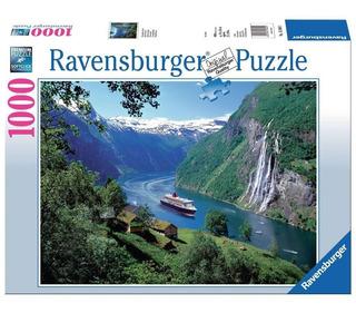 Puzzle 1000pz Fiordo Noruego - Ravensburger 158041