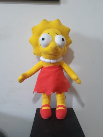 Pelúcia Lisa Simpsons 37 Cm Altura