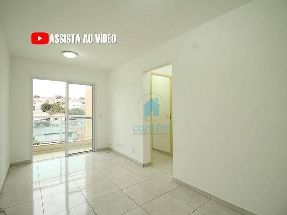 Ap0457 - Apartamento Com 2 Dormitórios Para Alugar, 52 M² Por R$ 1.900/mês - Km 18 - Osasco/sp - Ap0457
