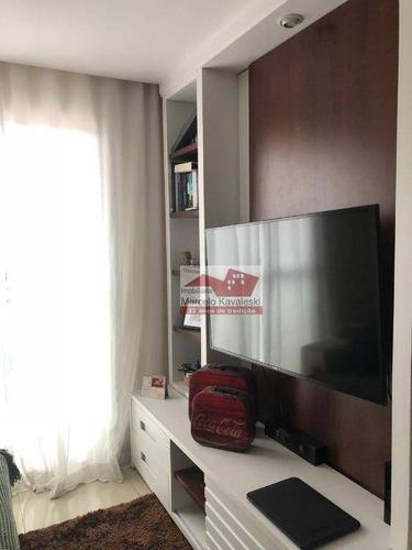 Imagem 1 de 9 de Apartamento Com 2 Dormitórios À Venda, 50 M² Por R$ 230.000,00 - Jardim São Savério - São Paulo/sp - Ap9666