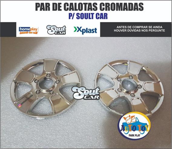 Soult Car 650 - X-plast - Homeplay - Par De Calotas Cromadas