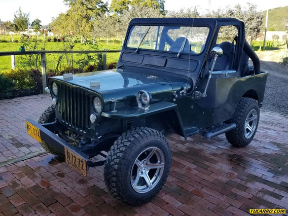 Jeep Willys Cj3 1.4 Mt