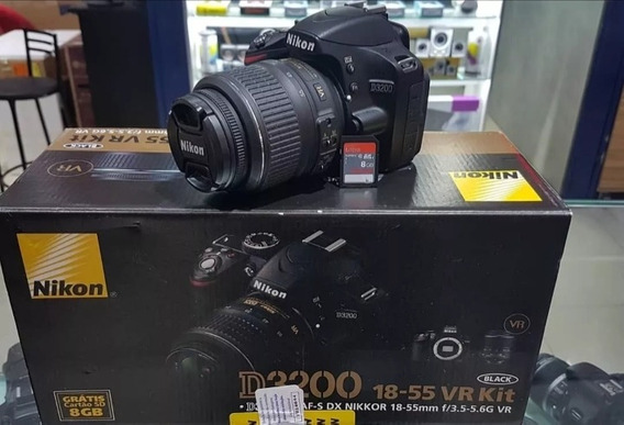 Camera Profissional Nikon D3200