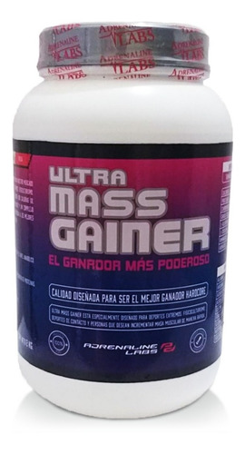Ultra Mass Gainer 2k Ganador Peso Adrenaline  Activationperu