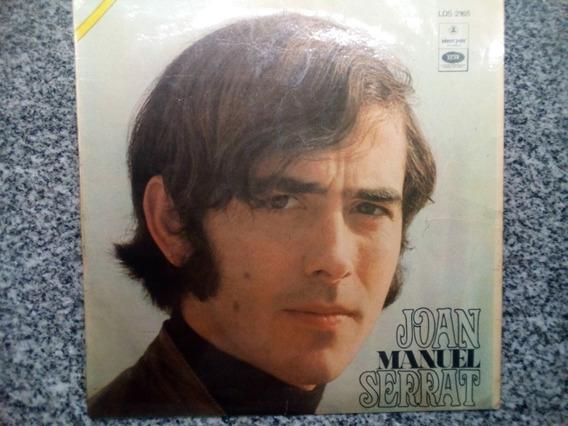 Disco Vinillo Joan Manuel Serrar
