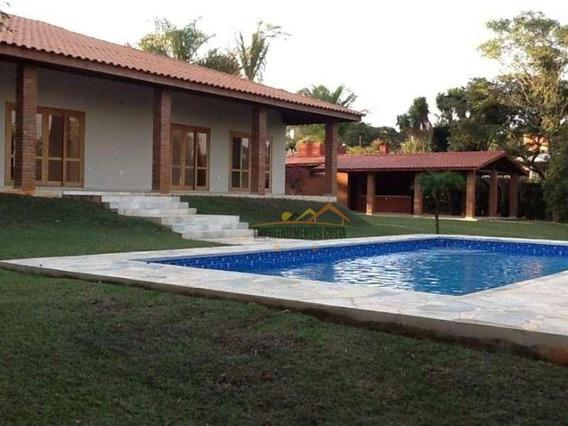 Chácara Com 3 Dormitórios À Venda, 2500 M² Por R$ 990.000 - Chácara Residencial Paraíso Marriot - Itu/sp - Ch0091