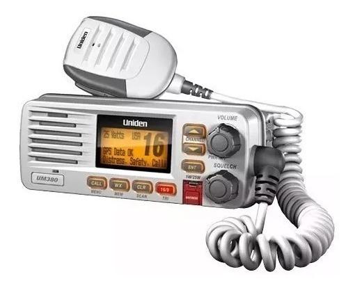 Radio Vhf Maritimo / Nautico Uniden Solara