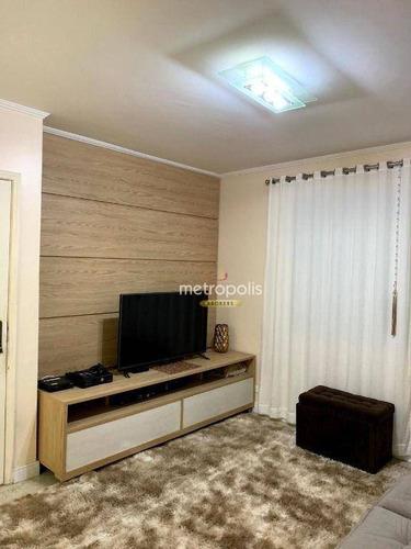 Imagem 1 de 17 de Sobrado Com 3 Dormitórios À Venda, 165 M² Por R$ 825.000,00 - Vila Bastos - Santo André/sp - So1502