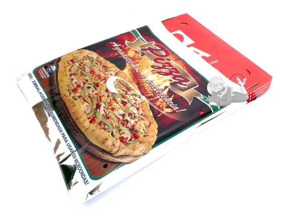Embalagem Envelope Térmica Para Pizza 50x50 Cm - 200 Unid