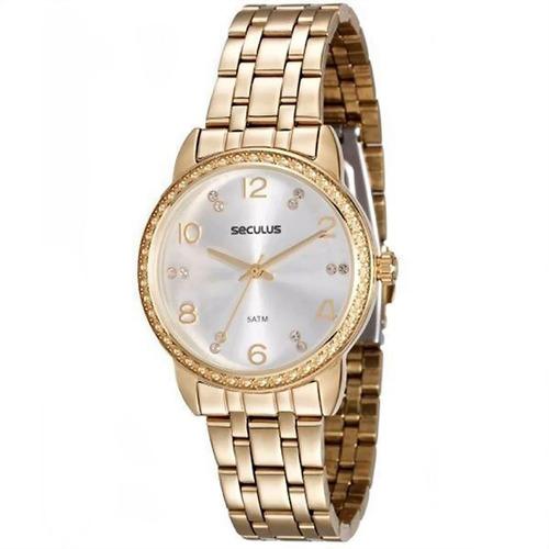 Relógio Feminino Seculus 20436lpskds2 Barato Original