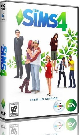The Sims 4: Deluxe Edition + All Dlcs & Add-on Midia Digital