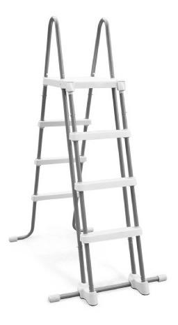 Escalera De 48in Con Plataforma Alberca O Piscina Intex