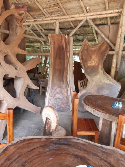 Se Venden Esculturas En Madera Y Tablones En Madera Y Barras