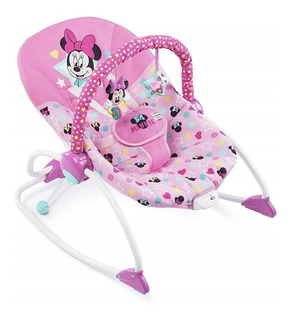 Silla Mecedora Bebe Bright Starts Rocker Disney Vibra Minnie