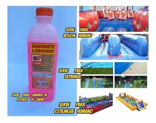 Imagem 1 de 10 de  Sabonete Liquido Especial P/futebol No Sabão 5 Lts +brinde