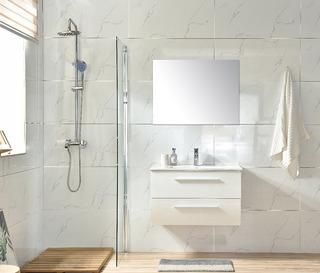 Mueble Para Baño Iz80 Blanco Inc. Lav Ceramico, Mono Y Esp