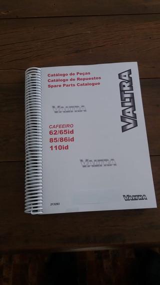 Catalago Pecas Impresso Valtra 62a110 Ano 84