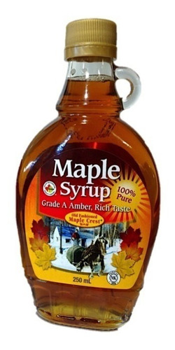 Maple Syrup (jarabe De Maple) De Canada X 250 Cc