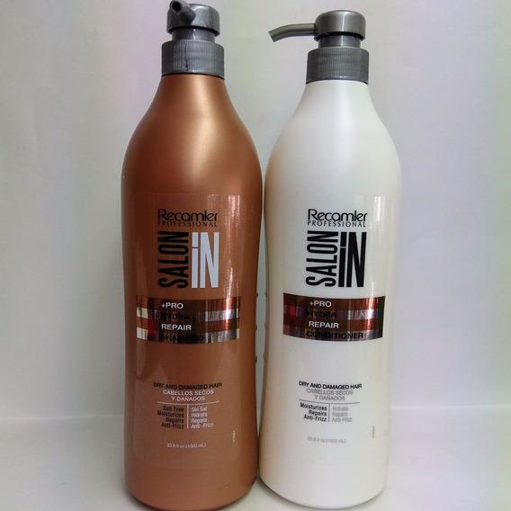 Shampoo Y Acondionador Hydra Litro Recamier 1000ml