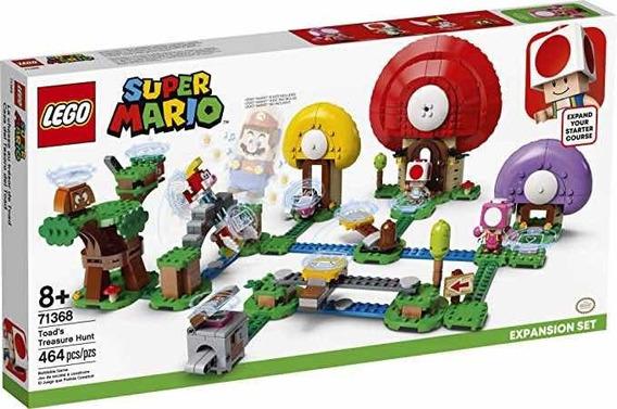 Lego Super Mario Pacote De Expansão Caça Ao Tesouro Do Toad