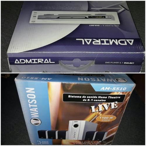 Reproductor Dvd Admiral Y Home Theatre 5.1 Oportunidad C/env