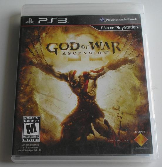 God Of War Ascension Ps3 Usado Testado E Funcionando Ok