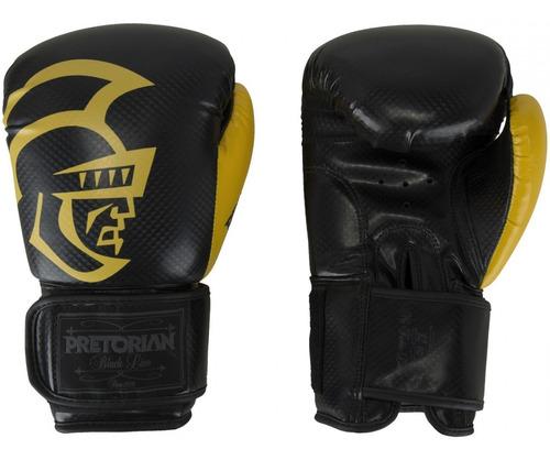 Kit Pretorian Black Line Amarelo Luva +bandagem