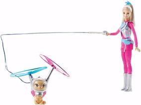 Barbie Aventura Nas Estrela Galáctica E Gatinho Voador