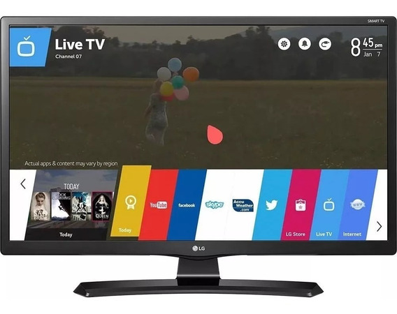 Smart Tv Monitor Lg 28 28mt49s-ps Hd Wi-fi Webos Netflix