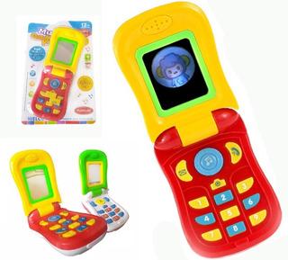 Telefono Celular Bebés Niños Juguete Didáctico Juguetería