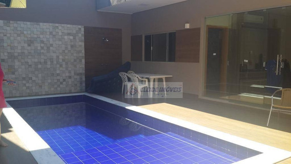 Sobrado Com 4 Dormitórios À Venda, 420 M² Por R$ 700.000 - Dom Aquino - Cuiabá/mt - So0100