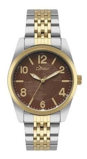 Relógio Condor Masculino Bicolor Co2035kyg/k5m + Brinde
