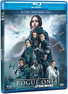 Rogue One: Una Historia De Star Wars Combo (blu Ray + Dvd)