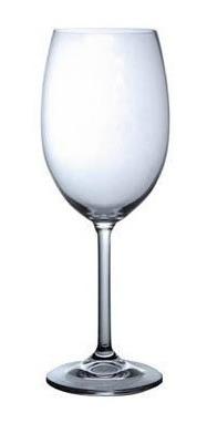 Copas De Vino Blanco 350 Ml. Lara Bhoemia Martina Pack De 6