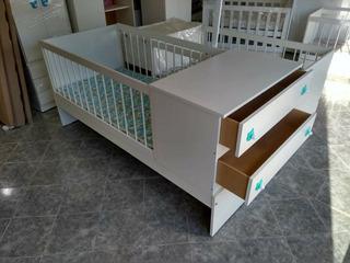 Maxi Cama Cuna Funcional Baranda Desmontable Oferta Fabrica
