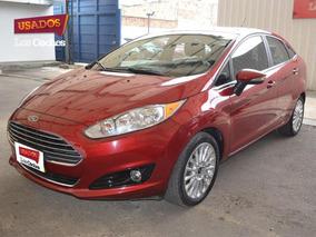 Ford Fiesta Aut Sedan Titanium Techo Uuo755