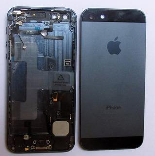 Carcaça Completa iPhone 5 5g Original Preta Frete Gratis