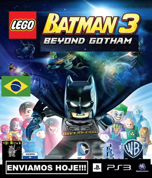 Lego Batman 3 Beyond Gotham Jogos Ps3 Psn Original