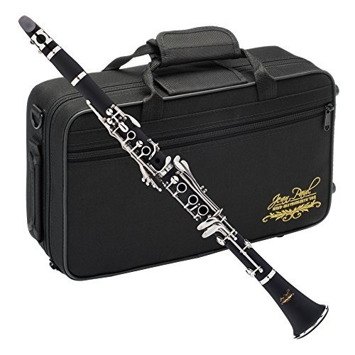 Clarinete Jean Paul/17 Llaves/nickel/estuche