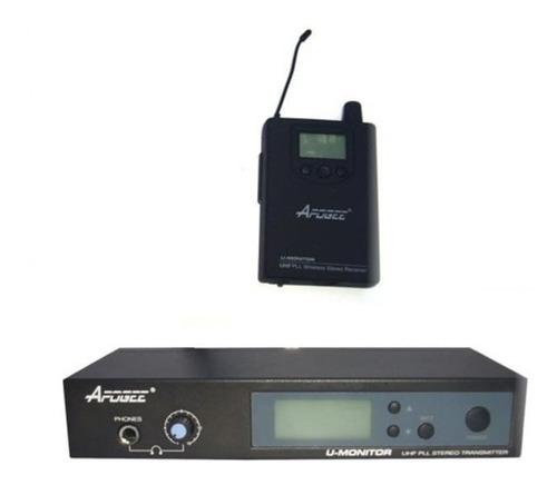 Imagen 1 de 10 de Monitor In Ear Apogee Pr 100 Intraural Uhf Inalambrico