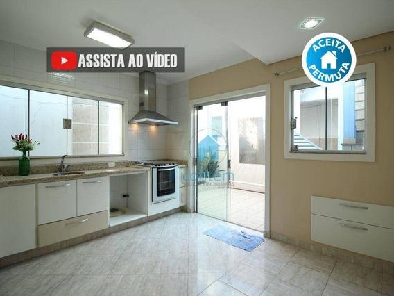 Ca0084 - Casa Com 2 Dormitórios À Venda, 120 M² Por R$ 595.000 - Km 18 - Osasco/sp - Ca0084
