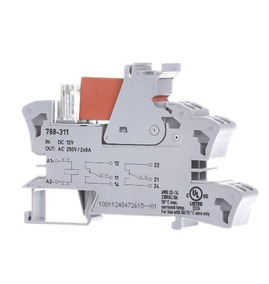 4 Rele Interface Wago 788-311 / 2 Contatos Reversíveis 12vdc