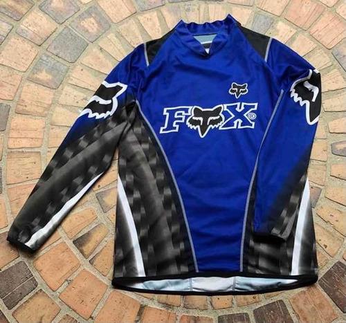 Buzo Jersey Motocross Bisicross Bmx Perfecto Estado