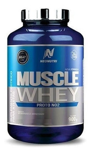 Muscle Whey Proto No2 900g Neonutri+brutal Force Creatine