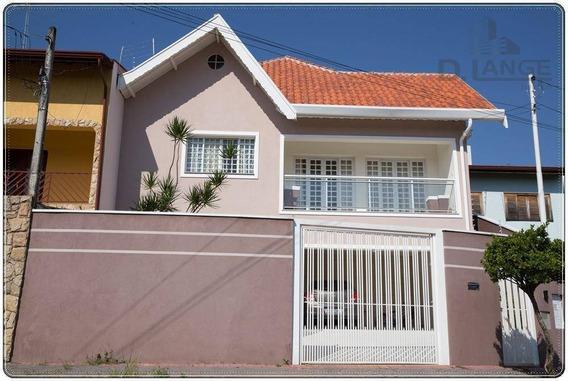 Casa Com 3 Dormitórios À Venda, 190 M² Por R$ 850.000 - Jardim Nova Europa - Campinas/sp - Ca9624