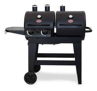 Asador Char-griller Dual 2quemadores D Carbón Y Parrilla Gas
