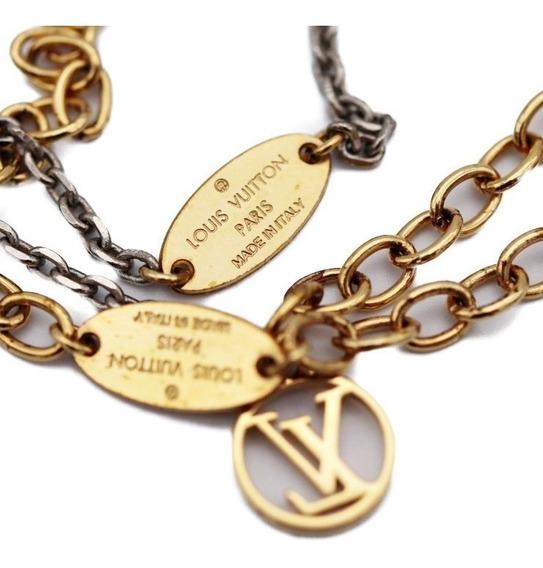 Collar Louis Vuitton Modelo M68075 $4600.00 Collar Largo Mod