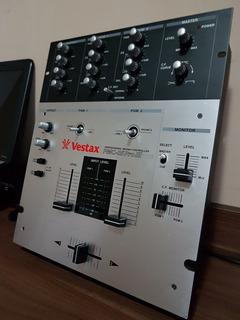 Mixer Vestax Pmc 05 Pro Iii Vca Pro., 2 Channels Dj Mixer