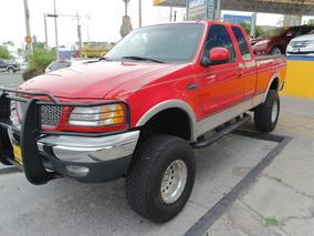 1999 Ford Lobo Lariat 4x4 8 Cil. 5.4 Lts. Color Rojo